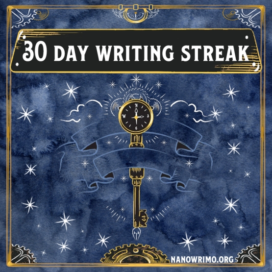 Day 30 writing badge